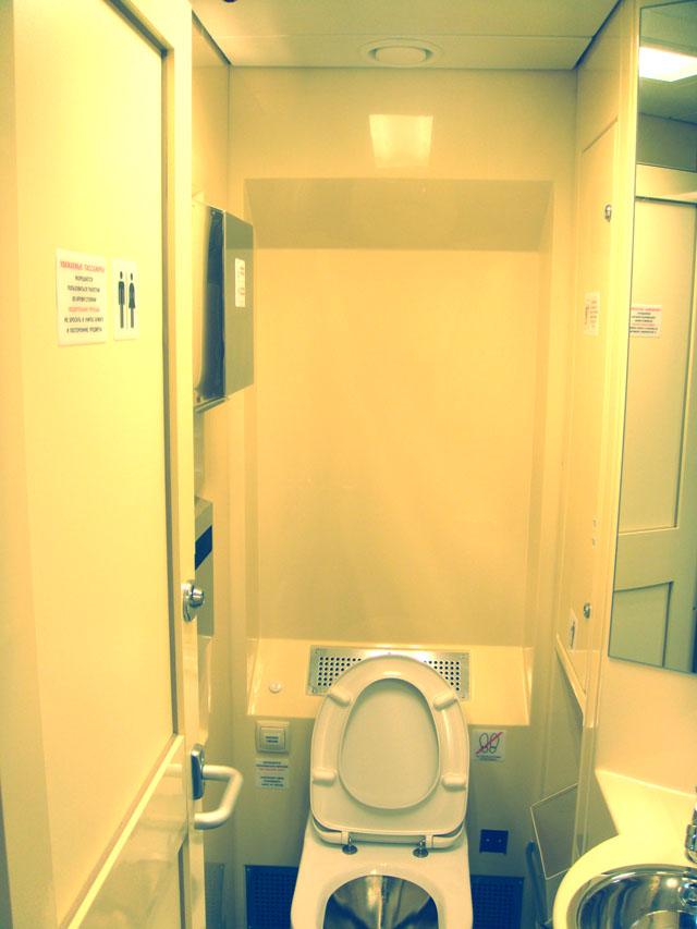 Панели туалетного помещения вагонов ТВЗ