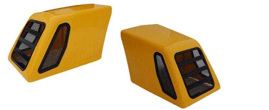 стеклопластиковый капот экскаватора ID301