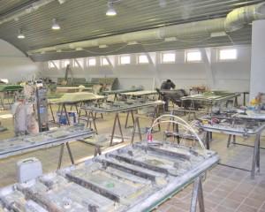 Тверьполимерсистемы. Механизированное производство композитных изделий