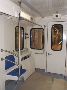 Стеклопластиковые детали вагонов метро